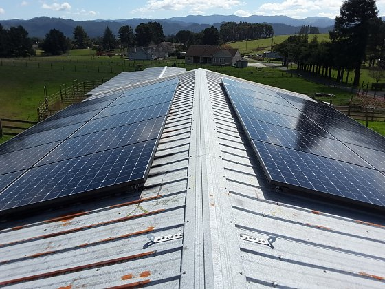 Solar residential project