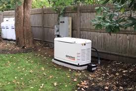 Generac Generator install