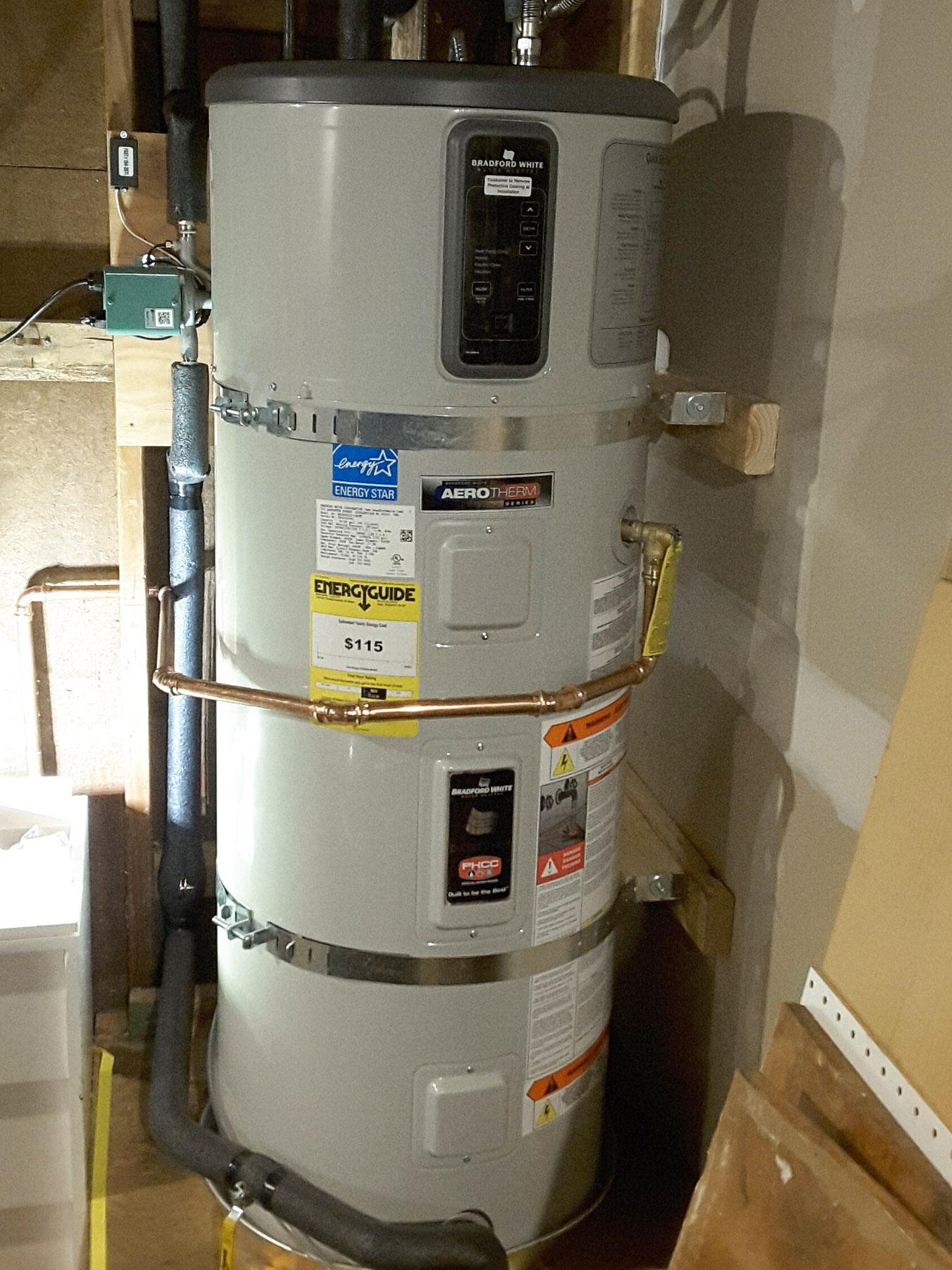 Scurfield Solar High Efficiency Water Heater