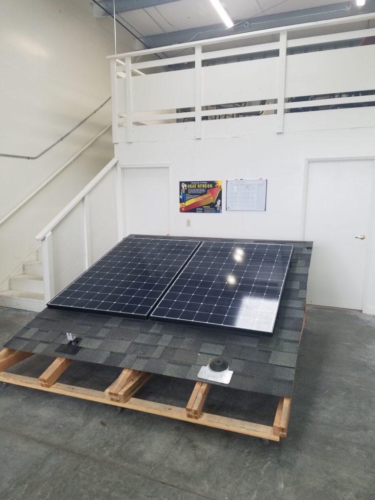 Solar array display
